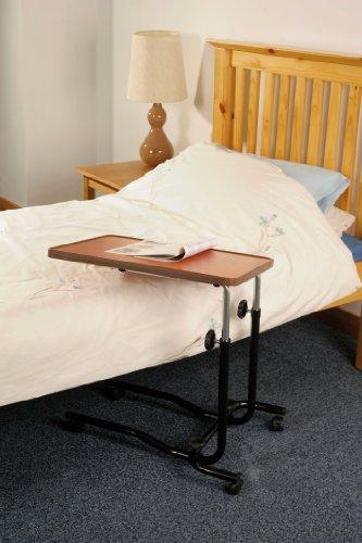 Bett- und Stuhltisch mit Rollen -