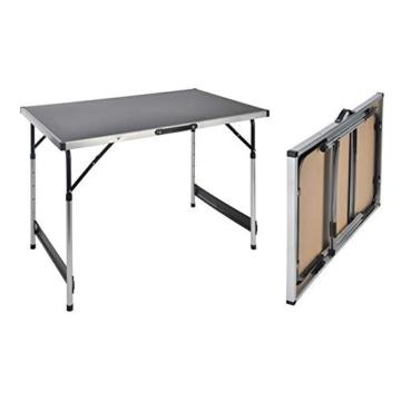 Campingtisch höhenverstellbar Tisch 100x60x73-94 Falttisch -