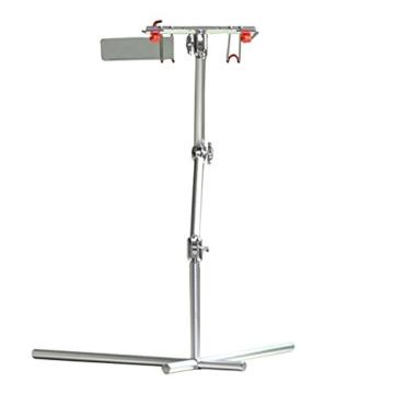 CRAVOG Aluminium Ständer Justierbarem Standplatz Für Laptop, IPad Und Notebook (Silber ) -