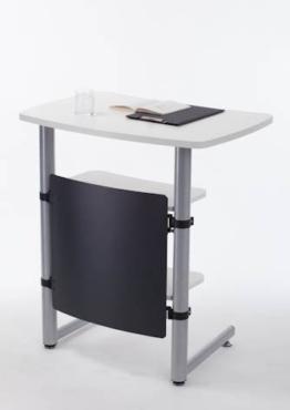 Creaform Rednerpult / Stehpult, höhenverstellbar, weiß -