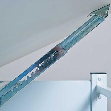 Höhenverstellbarer Schreibtisch für Schüler Weiß Grün Pharao24 -