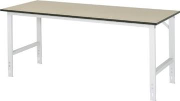 RAU Arbeitstisch, höhenverstellbar – 760 – 1080 mm -