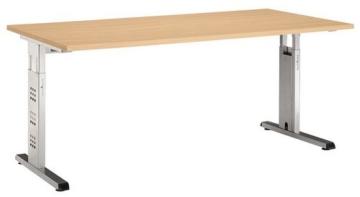 Schreibtisch MEGA 160 x 80 Buche -