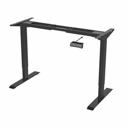 Flexispot ED2B Höhenverstellbarer Schreibtisch Elektrisch höhenverstellbares Tischgestell, passt für alle gängigen Tischplatten. Mit Memory-Steuerung und Softstart/-Stop - 1