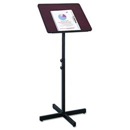 Safco Verstellbare Lautsprecher Ständer/Rednerpult - 1
